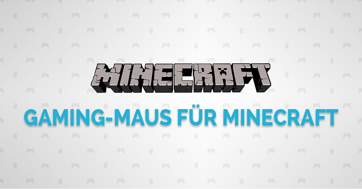 Gaming Maus für Minecraft