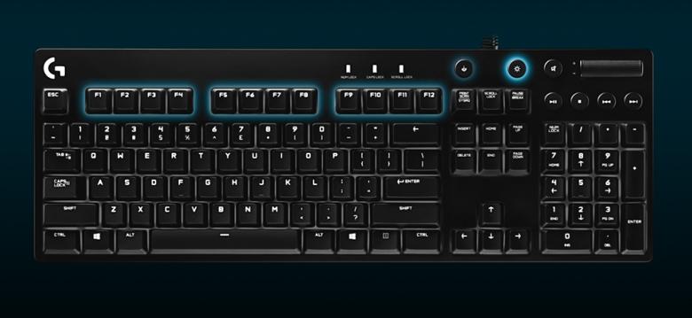Logitech G610 - Software