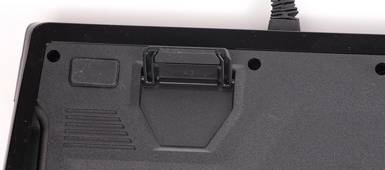 Logitech G910 - Bodenansicht