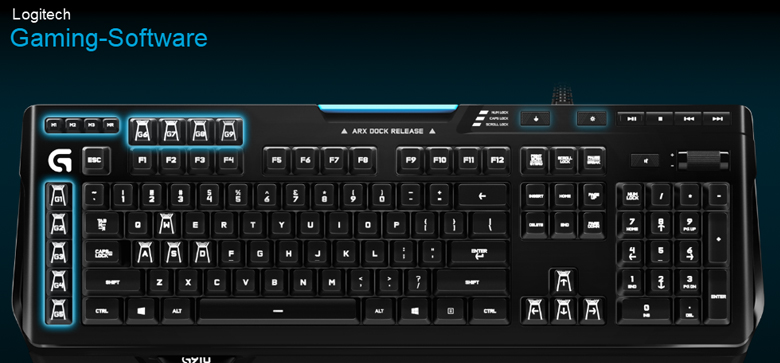 Logitech G910 - Software