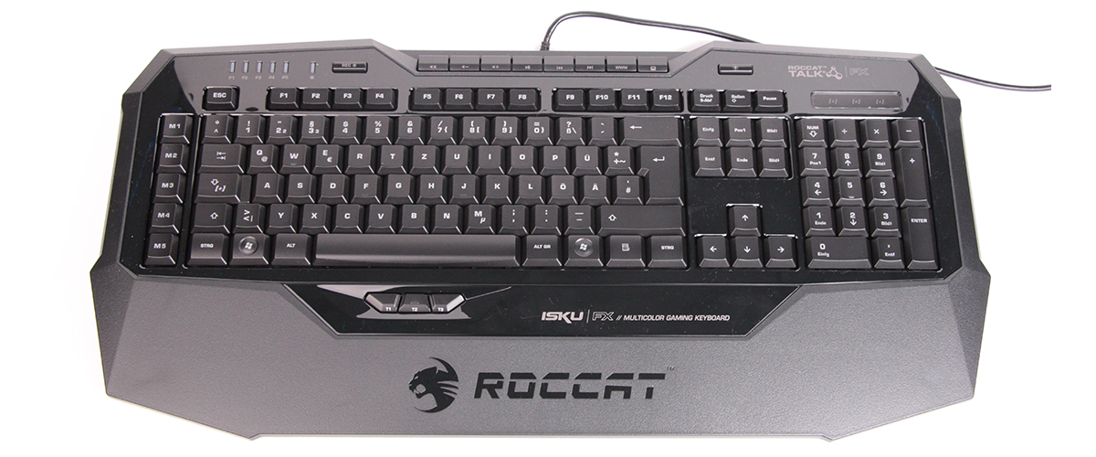 ROCCAT ISKU FX Test - Outdoor