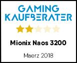 Mionix Naos 3200 - Testsiegel