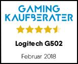 Logitech G502 - Testsiegel