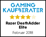 Razer DeathAdder Elite Chroma - Testsiegel
