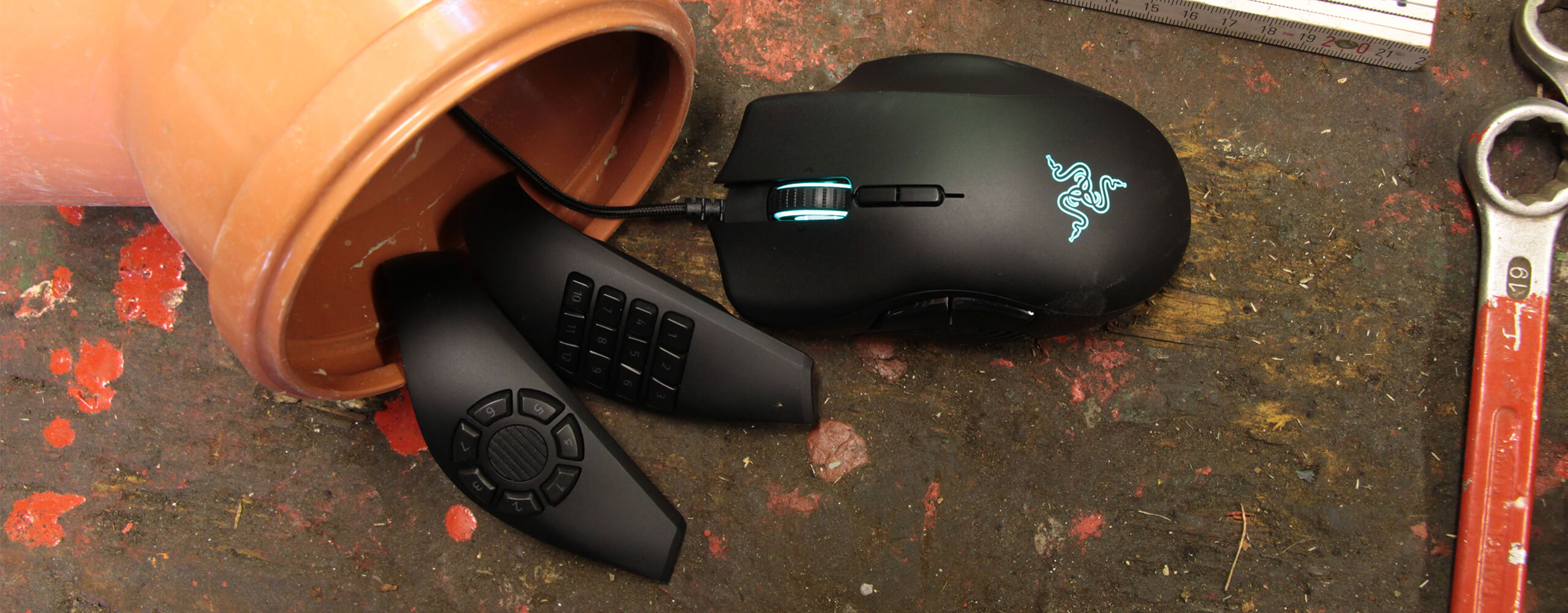 Razer Naga Trinity Test - Outdoor