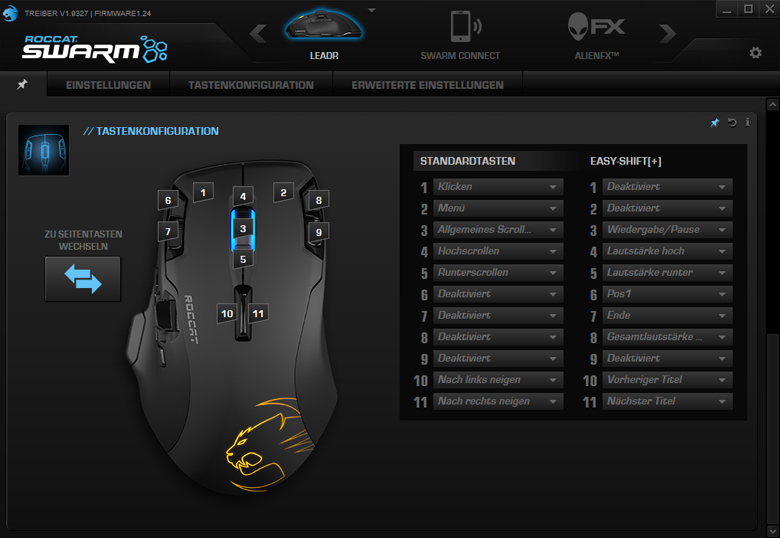ROCCAT Leadr - SWARM-Software