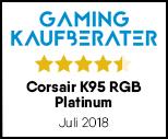 Corsair K95 RGB Platinum - Testsiegel-Update