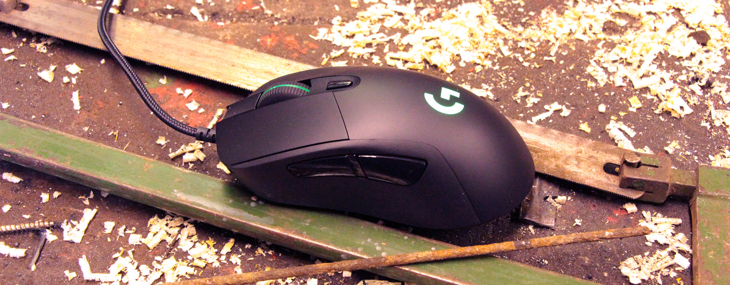 Logitech G403 Test - Outdoor