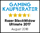 Razer BlackWidow Ultimate 2017- Testsiegel