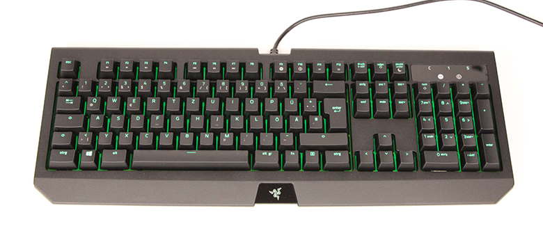 Razer BlackWidow Ultimate 2017 - Top-Ansicht