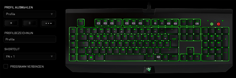 Razer BlackWidow Ultimate 2014 - Software