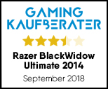 Razer BlackWidow Ultimate 2014 - Testsiegel