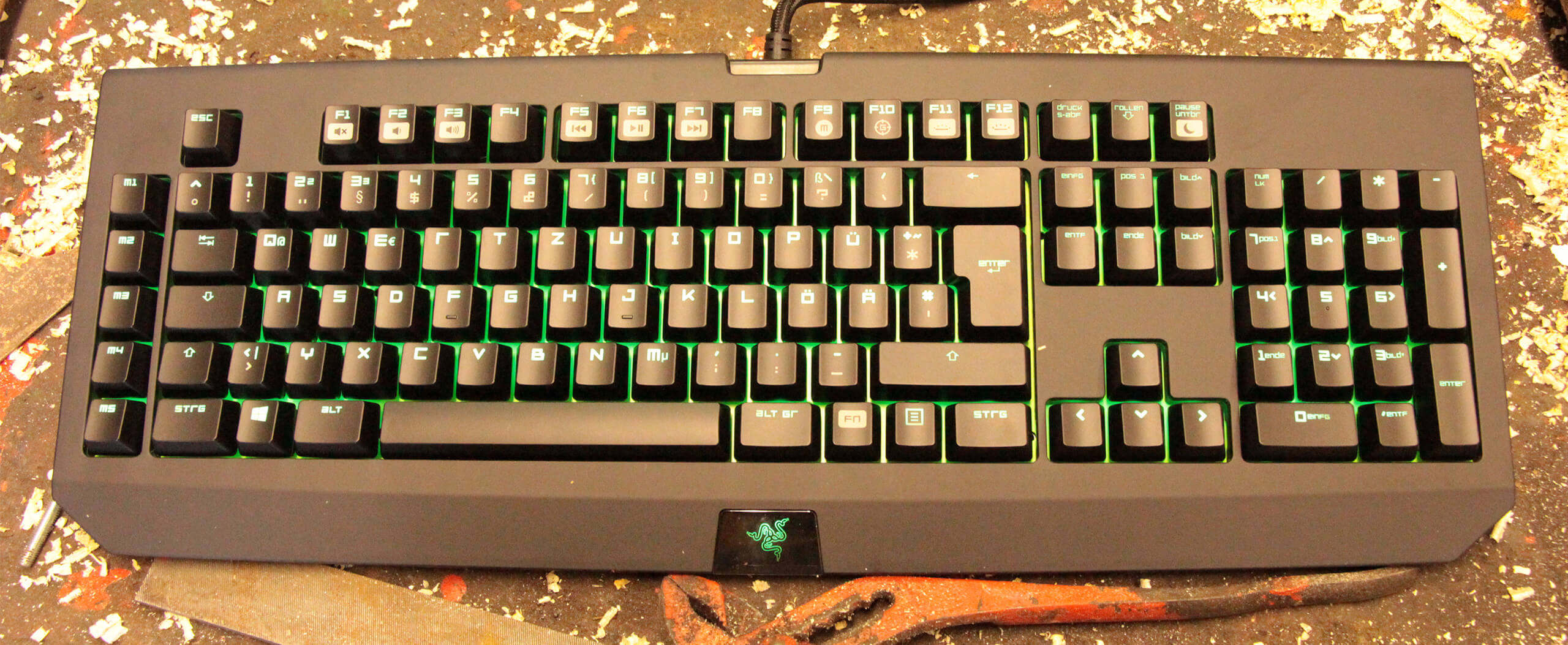 Razer BlackWidow Ultimate 2014 Test - Outdoor