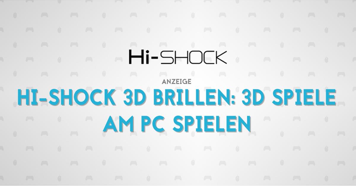 HI-SHOCK 3D-Brillen Titelbild