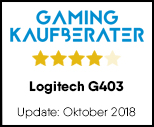 Logitech G403 - Testsiegel-Update