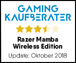 Razer Mamba Wireless Edition - Testsiegel-Update