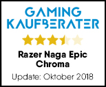 Razer Naga Epic Chroma - Testsiegel-Update